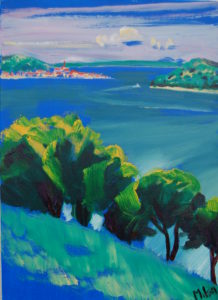 Murter, Dalmatia (oil and acrylic on canvas - 50x70)